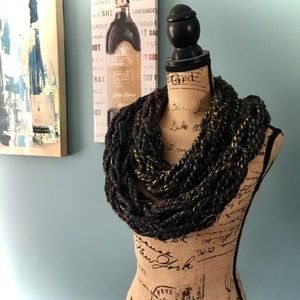 Accessories - Handmade Knit Infinity Scarf